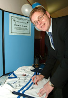 David Larter at the 125th Anniversary Celebrations 2004